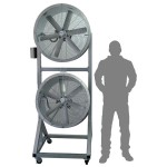 Ventilador Industrial Twin Heavy Duty Air Master - THD